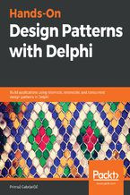 Okładka książki Hands-On Design Patterns with Delphi