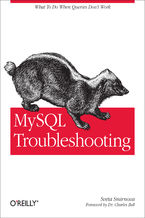 Okładka książki MySQL Troubleshooting. What To Do When Queries Don't Work