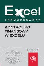 Okładka książki Kontroling finansowy w Excelu