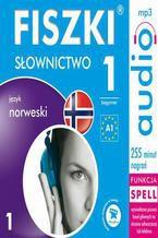 Okładka książki FISZKI audio  j. norweski  Słownictwo 1