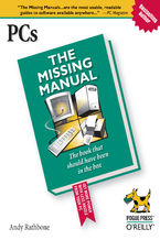 Okładka książki PCs: The Missing Manual