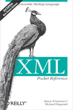 Okładka książki XML Pocket Reference. Extensible Markup Language. 3rd Edition