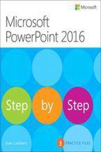 Okładka książki Microsoft PowerPoint 2016. Krok po kroku. Pliki ćwiczeń