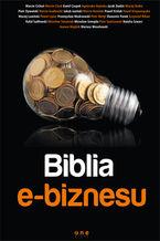 Okładka książki Biblia e-biznesu. Książka z autografem