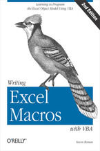 Okładka książki Writing Excel Macros with VBA. 2nd Edition