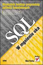 Okładka książki SQL w mgnieniu oka