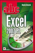 Okładka książki ABC Excel 2007 PL