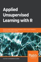 Okładka książki Applied Unsupervised Learning with R