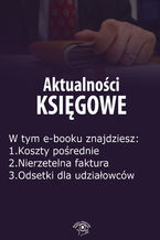 Aktualności księgowe, wydanie maj 2016 r