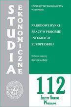 Narodowe rynki pracy w procesie integracji europejskiej. SE 112