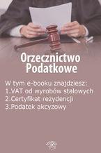 Orzecznictwo podatkowe, wydanie maj 2014 r