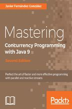 Okładka książki Mastering Concurrency Programming with Java 9 - Second Edition