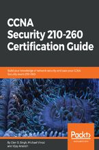 Okładka książki CCNA Security 210-260 Certification Guide