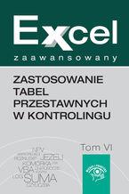 Okładka książki Zastosowanie tabel przestawnych w kontrolingu