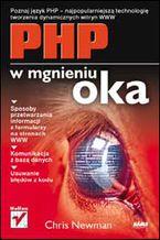 Okładka książki PHP w mgnieniu oka