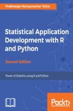 Okładka książki Statistical Application Development with R and Python - Second Edition
