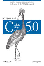 Okładka książki Programming C# 5.0. Building Windows 8, Web, and Desktop Applications for the .NET 4.5 Framework