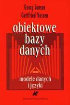Okładka książki Obiektowe bazy danych