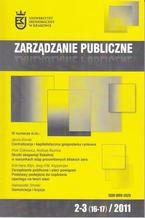 Zarządzanie Publiczne nr 2-3 (16-17)/2011