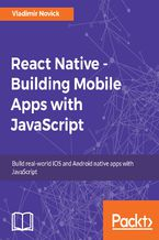 Okładka książki React Native - Building Mobile Apps with JavaScript