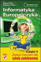 Okładka książki Informatyka Europejczyka. Zeszyt ćwiczeń dla szkoły podstawowej. Część II