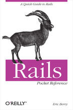 Okładka książki Rails Pocket Reference. A Quick Guide to Rails