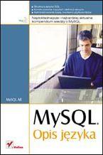 Okładka książki MySQL. Opis języka