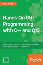 Okładka książki Hands-On GUI Programming with C++ and Qt5