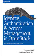 Okładka książki Identity, Authentication, and Access Management in OpenStack. Implementing and Deploying Keystone