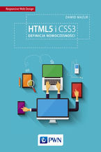 Okładka książki HTML5 i CSS3. Definicja nowoczesności