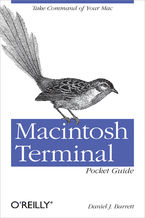 Okładka książki Macintosh Terminal Pocket Guide. Take Command of Your Mac