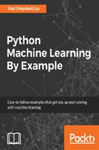Okładka książki Python Machine Learning By Example