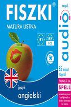 Okładka książki FISZKI audio  j. angielski  Matura ustna
