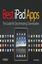 Okładka książki Best iPad Apps. The Guide for Discriminating Downloaders
