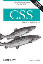 Okładka książki CSS Pocket Reference. 4th Edition