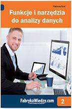 Okładka książki Funkcje i narzędzia do analizy danych