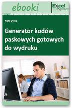 Okładka książki Generator kodów paskowych gotowych do wydruku