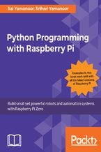 Okładka książki Python Programming with Raspberry Pi