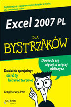 Okładka książki Excel 2007 PL dla bystrzaków
