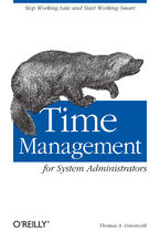 Okładka książki Time Management for System Administrators