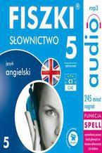 Okładka książki FISZKI audio  j. angielski  Słownictwo 5