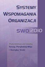 Systemy Wspomagania Organizacji SWO 2010