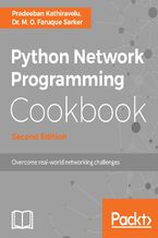 Okładka książki Python Network Programming Cookbook - Second Edition