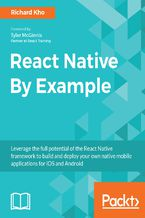 Okładka książki React Native By Example