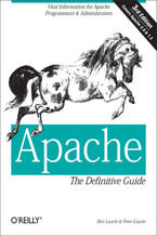 Okładka książki Apache: The Definitive Guide. The Definitive Guide, 3rd Edition. 3rd Edition