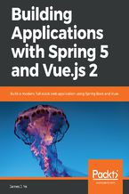 Okładka książki Building Applications with Spring 5 and Vue.js 2