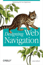 Okładka książki Designing Web Navigation