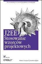 Okładka książki J2EE. Stosowanie wzorców projektowych