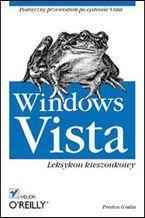 Okładka książki Windows Vista. Leksykon kieszonkowy