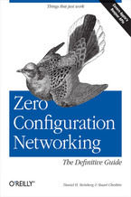 Okładka książki Zero Configuration Networking: The Definitive Guide. The Definitive Guide
